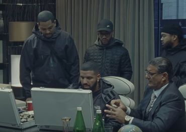 A Drake and team YouTube screenshot.