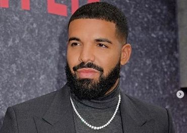 Drake, as captured on his Instagram account.