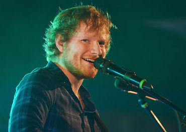 Ed Sheeran is back at the top of the Albums chart this week