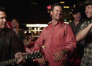 Emerson Drive hamming it up.