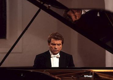 Emil Gilels at the ivories. Pic: United