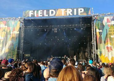 Field Trip audience on Saturday