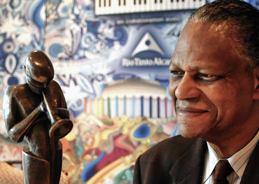 Photo: Bill King photo in 2008  Taken when McCoy Tyner received the Miles Davis Award at Festivaldu Jazz DeMontreal.