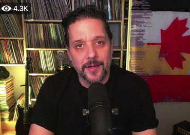 Screen shot of George Stroumboulopoulos