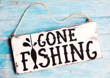 Gone fishing. Back Wednesday!