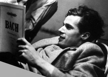 Glenn Gould kicks back with Bach