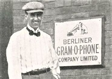 Herbert Berline in at his factory in Montreal