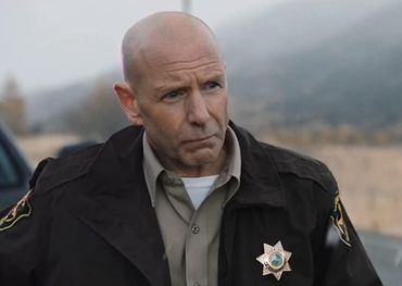Hugh Dillon as Sheriff Haskell in the Paramount drama Yellowstone.