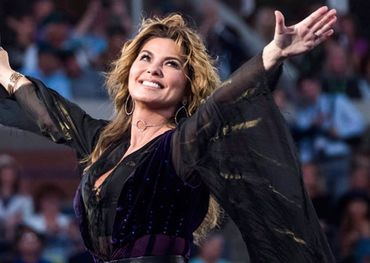 CCMA host Shania Twain