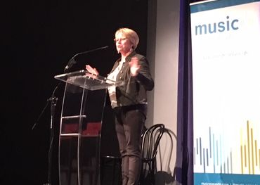 Music Canada executive vice-president Amy Terrill