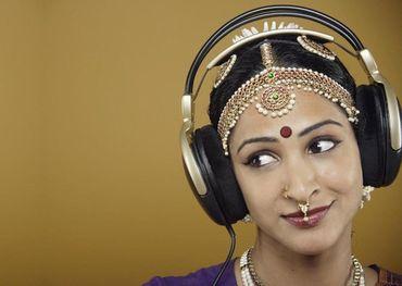 Indian music lover, Larry LeBlanc