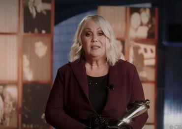 Juno Awards live capture  of Jann Arden's acceptance speech