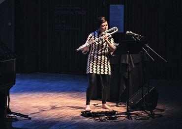 Calgary flautist Jiajia Li is among the selected participants in the Stingray Classical Music Program. Photo credit: Sebastian Buzzalino.