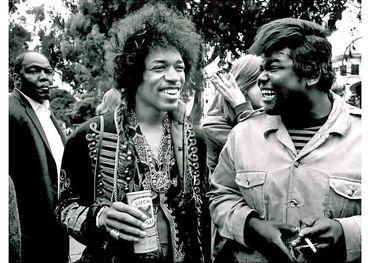 Jimi Hendrix and Buddy Miles