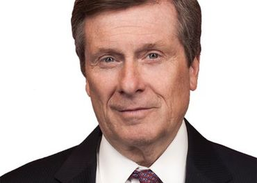 Toronto City Mayor John Tory
