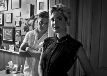 Pete and Leah of July Talk