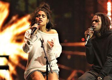 "Juno winners Jessie Reyez and Daniel Caesar performing ""Figures"" on last night's CBC telecast."