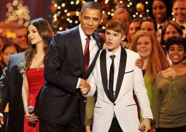 Justin Bieber, President Obama