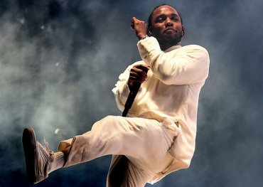 Kendrick Lamar owns the albums chart this week