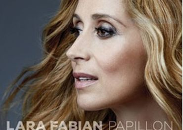 Lara Fabian as depicted on her latest album cover.