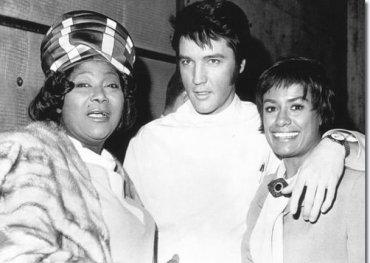 Mahalia Jackson, Elvis, Barbara McNair