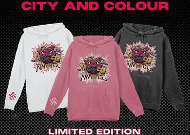 City and Colour and Nick Nurse Foundation merch