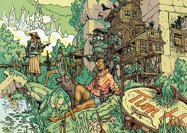 Wolf Parade album graphic