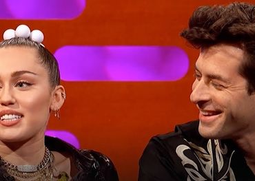 Mark Ronson and Miley Cyrus together again.
