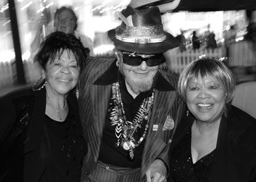 Dr. John with Mavis and Yolanda Staples, Toronto Jazz Festival, 2013. Photo: Bill King