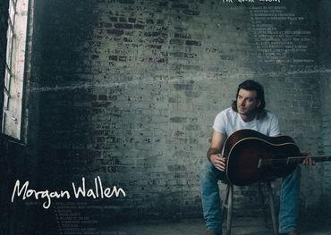 Album graphic for Morgan Wallen's Dangerous album.