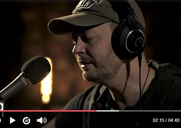 Paul Brandt recorded a live version of 'Small Town, Big Dreams' for the community of Humboldt, SK last week in the q studio.