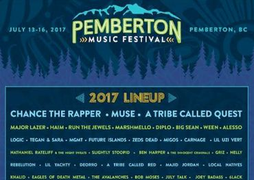 Pemberton Festival handbill: The show that never came to be