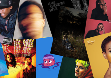Polaris Prize collage graphic of shortlisted albums