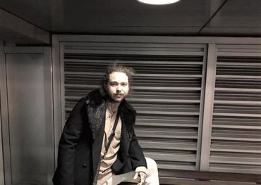 Post Malone takes a break between tour stops