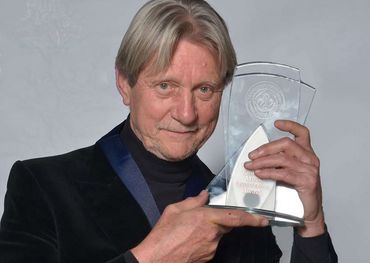 with his CCMA Hall of Fame award a few years back