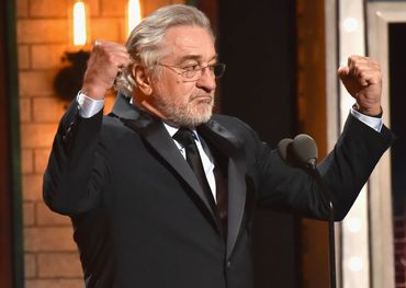 Robert De Niro gave Donald Trump a taste of his own medicine on the Tony Awards last night.