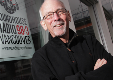 Roundhouse Radio CEO Don Shafer in happier times | Rob Kruyt, BIV