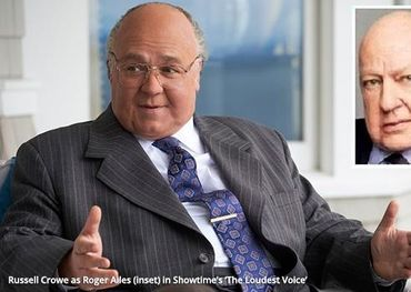 Russell Crowe as Roger Ailes in sensational new movie about the old Fox