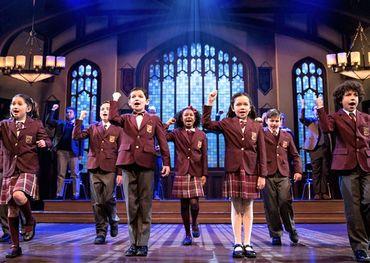School of Rock kids' cast in Toronto