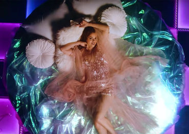 Capture shot from Selena Gomez's Rare video