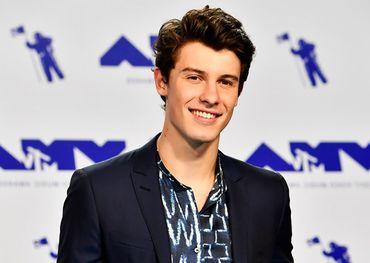 Shawn Mendes at last year's VMAs