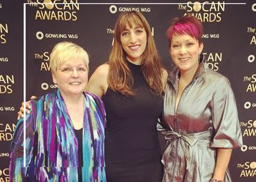 Sheila Hamiilton, Florence K and Amanda Power