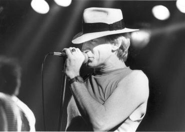 Kenny Shields performs in 1988. (Phil Hossack / Winnipeg Free Press files)