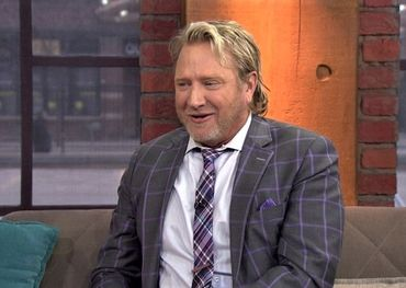 Steve Anthony yesterday announcing his departure from CP24 Breakfast