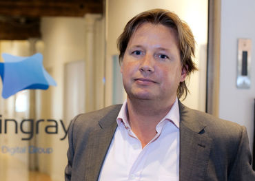 Stingray CEO Eric Boyko. Pic: Philippe-Olivier Constant / Agency QMI