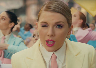 Taylor as she appears in her latest video