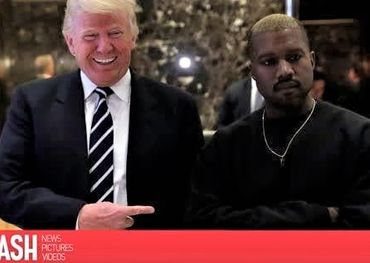 Potus with Kanye at Trump Tower. Pic: Splash Media