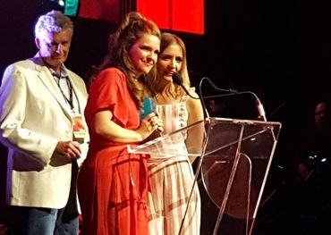 The Lovelocks won in the category of Roots Group last night at the CMAOs.