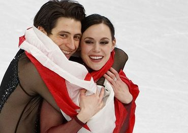 """A CBC video montage of the two-decade-long career of Virtue and Moir set to the Jim Cuddy's quiet ballad, """"Pull Me Through"""" puts the song back on the chart."""