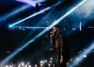 NAV at Toronto Ultra Brand Launch at Rebel Nightclub, October 2019